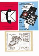 3 Cartes Postales Neuves . - Greenland
