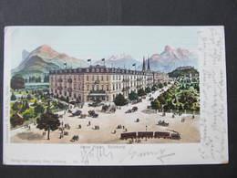AK SALZBURG Hotel Pitter 1908  //  D*32925 - Salzburg Stadt