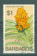 Barbados: 1975/79   Orchids  SG521    $1    Used - Barbades (1966-...)