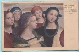 Raffaello. Dettaglio Dello Sposalizio. Pinacoteca Di Brera. - Paintings, Stained Glasses & Statues