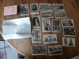 Lot De 16 CPA ->connaitre Notre Histoire :LA VIE FRANCAISE AU XVIIe SIECLE  ,par Alfred Carlier - Historia