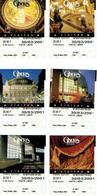 Lot De 6 Tickets D'entrée à L'Opéra Garnier, Paris 30/03/2001 (tous Différents) - Tickets D'entrée
