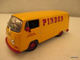 Voiture Miniature 1/43em  CORGI CIRQUE PINDER  VOLWAGEN COMBI    Tres Bon Etat - Toy Memorabilia
