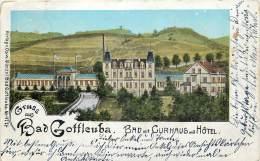 Deutschland - Gruss Aus Bad Gottleuba - Bad Mit Curhaus Und Hotel - N° 4776 - Bad Gottleuba-Berggiesshuebel