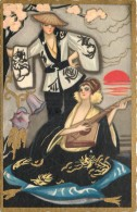 Fantaisie - Art Nouveau - Ballerini & Fratini - Série N°388 - Women