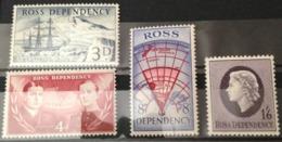 Ross Dependency - Terre De Ross - N°1 à 4 - Neuf - (W1048) - Dépendance De Ross (Nouvelle Zélande)
