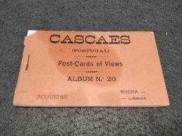RARE ANTIQUE PORTUGAL CASCAIS CARNET X 10 POSTCARDS - Autres