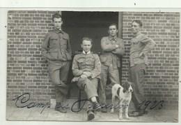 Leopoldsburg Kamp Van Beverloo- Fotokaart Soldaten - Leopoldsburg (Kamp Van Beverloo)