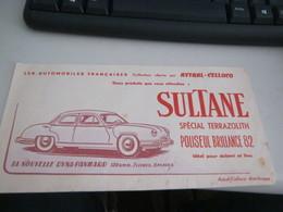 BUVARD PUBBLICITARIA SULTANE - Limonades