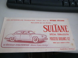 BUVARD PUBBLICITARIA SULTANE - Limonadas - Refrescos