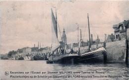Excursions Sur L' Escaut Par Steamer Wilford Entre Tamise Et Anvers - Antwerpen