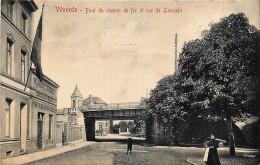 Vilvorde - Pont Du Chemin De Fer Et Rue De Louvain - Vilvoorde