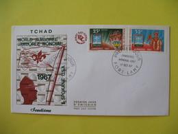 FDC  1967    Tchad   -  Port-Lamy    à Voir - Tchad (1960-...)