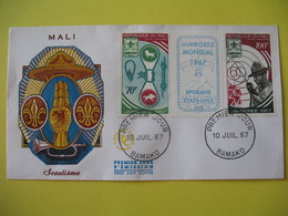 FDC  1967    Mali    -  Bamako   à Voir - Mali (1959-...)