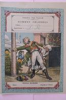 PROTEGE CAHIER COLLECTION PAUL VARIN HOMMES CELEBRES - Buvards, Protège-cahiers Illustrés