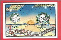 FLOIRAC 1991 SALON DE LA CARTE POSTALE CARTE EN TRES BON ETAT - France