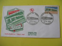 FDC  1967    Madagascar  Malagasy   -  Tananarive     à Voir - Cameroon (1960-...)