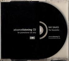 RAY DAVIES - STORYTELLER - RARE PROMO - Rock