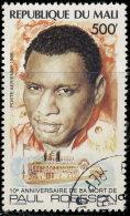 Mali Aériens 1986. ~ A 513 - Paul Robeson, Chanteur - Mali (1959-...)