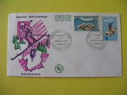 FDC  1967    Mauritanie   -  Nouakchott     à Voir - Mauritania (1960-...)