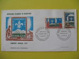 FDC  1967    Mauritanie   -  Nouakchott     à Voir - Mauritanie (1960-...)