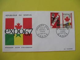 FDC  1967    Sénégal   -  Dakar     à Voir - Sénégal (1960-...)