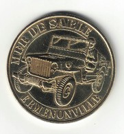 Monnaie De Paris 60. Ermenonville - Mer De Sable La Jeep 2015 - Monnaie De Paris