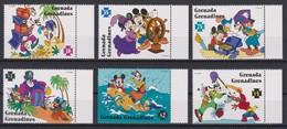 2304  WALT DISNEY   GRENADA GRENADINES  ( The Adventures Of Mickey ) Mickey And The Pirates . - Disney