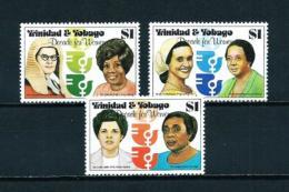 Trinidad Y Tobago  Nº Yvert  424/6  En Nuevo - Trinidad Y Tobago (1962-...)