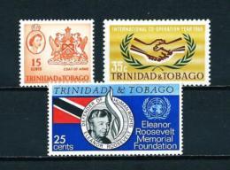 Trinidad Y Tobago  Nº Yvert  203/5  En Nuevo - Trinidad Y Tobago (1962-...)