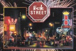 Beale Street, Live Music, Centre, Memphis, Tennessee, Unused - Memphis