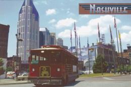 Trolley Stop At Riverfront Park, 1st Avenue, Nashville, Tennessee, Unused - Nashville