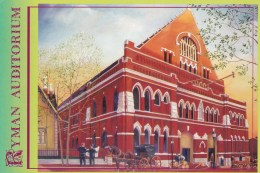 Ryman Auditorium, Music City - Nashville, Tennessee, Unused - Nashville