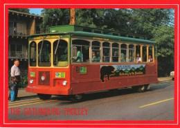 The Gatlinburg Trolley, Gatlinburg, Tennessee, Unused - United States