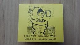 Zündholzheftchen Mit Satire-Zeichnung - Zündholzschachteln