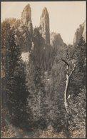 Cathedral Spires, Yosemite National Park, California, C.1910 - AZO RP Postcard - Yosemite