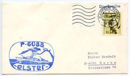 Germany, West 1969 P-6088 Elster Torpedo Speedboat Cover - [7] Federal Republic