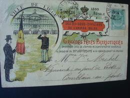 Liège / Grandes Fêtes Patriotiques 1899 - Lierneux