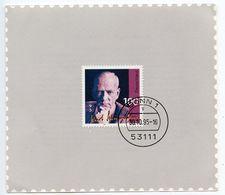 Germany 1995 Scott 1907 Kurt Schumacher Commemorative Card - [7] Federal Republic