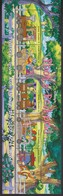 2307   WALT DISNEY   GRENADA GRENADINES  ( The Train Of Winnie The Pooh Through The Wood Of 4 Under) - Disney