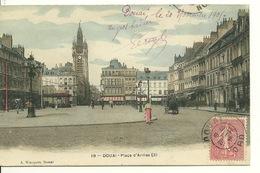 59 - DOUAI / PLACE D'ARMES (3) - Douai