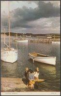 Padstow Harbour, Cornwall, 1953 - Jarrold Postcard - England