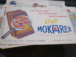 BUVARD PUBBLICITARIA MOKAREX - Coffee & Tea