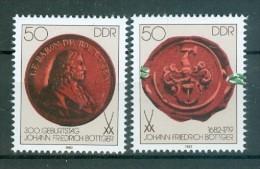 DDR - Einzelmarken Mi-Nr. 2671 - 2672 Aus Block 65 Postfrisch - [6] Democratic Republic