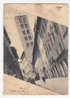 Arezzo Pieve Di S. Maria Old Postcard Travelled 1941 DAMAGED B180710 - Arezzo