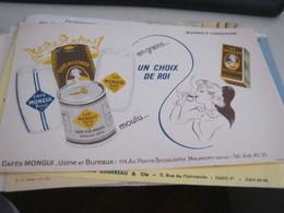 BUVARD PUBBLICITARIA CAFE' DES LORDS - Coffee & Tea