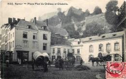 Namur - Les Attelages Place Pied Du Chateau - Namur