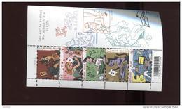 Belgie Blok Feuillet BL148 Type Writers Plaatnummer 2 - Blocks & Sheetlets 1962-....
