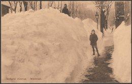 Ontario Avenue, Montreal, Quebec, C.1906 - Wigwam Postcard - Montreal