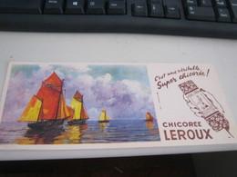 BUVARD PUBBLICITARIA CHOCOLAT LEROUX - Cocoa & Chocolat